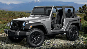 Looking for a 2012+ Jeep Wrangler 2 Dr,  Manual, A/C, 3.73