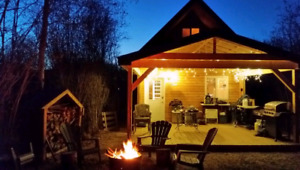 Consider a CABIN rather than an RV! 3 hrs from Edm. on Slave Lk