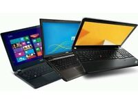 CHEAP LAPTOPS FOR SALE ALL FULLY SERVICED.