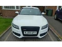 Audi A5 Sline White Coupe 2.0 TDI 10 plate (59) £8995 ONO