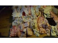 JOBLOT OF BABY GIRLS CLOTHS