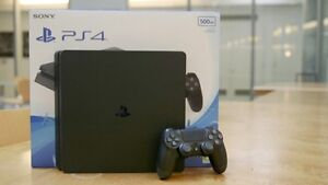 PS4 slim great condition