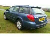 Subaru legacy estate AWD 4x4 four wheel drive 2005