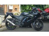 Kawasaki Ninja 250r not zx6r 636