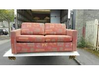 Material sofa bed in very good condition £85 delivered