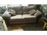 Dfs extra large 2 seater sofa (will easily seat 3 people)