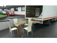Very nice dining room table + 4 cream leather chairs was £600 in harveys
