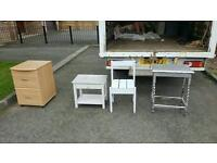 Job lot of lockers and occasional furniture £55 delivered