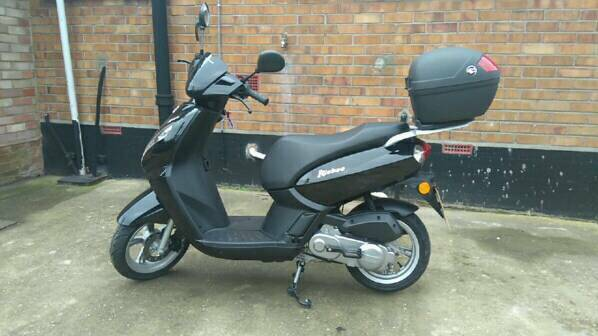peugeot kisbee 50cc scooter in beccles suffolk gumtree. Black Bedroom Furniture Sets. Home Design Ideas