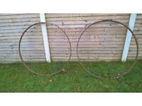 mild steel wheel hoops