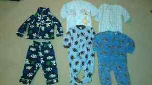Boys pyjamas (various sizes, most would fit 3-12months)