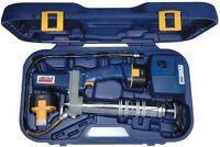 NEW LINCOLN 12V RECHARGEABLE POWERLUBER GREASE GUN