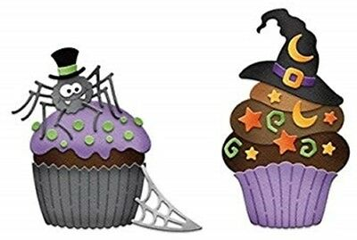 SPOOKY CUPCAKE 2 DIE, HALLOWEEN, SPIDER CUPCAKE, WITCH HAT, PARTY  - Witch Hat Cupcakes