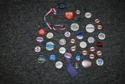 Political Buttons Lot
