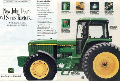 John Deere Tractor Ad : John deere tractor ads ebay