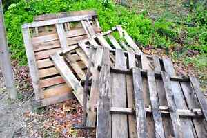 OLD STRINGER WOOD PALLETS WANTED - PLEASE DROP OFF
