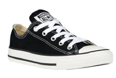 Boy's/Girl's Youth CONVERSE Chuck Taylor All Star 3J235 Black Casual Shoes NEW