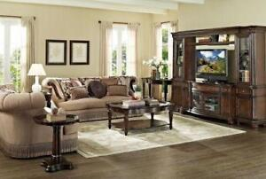 TRADITIONAL SOFAS WITH WOOD TRIM | TRADITIONAL LIVING ROOM FURNITURE STORES | WWW.KITCHENANDCOUCH.COM (BD-189)