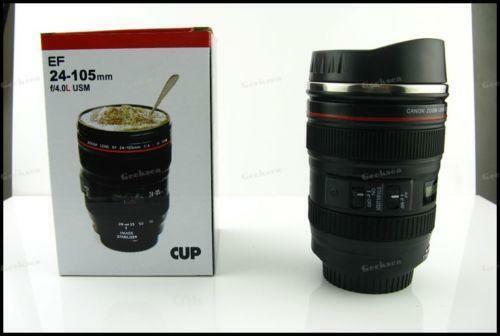 Camera Lens Stainless Steel Coffee Mug Ebay