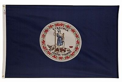 State of Virginia Flag 4x6 Foot Flag Banner