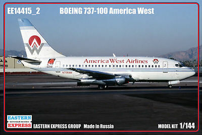 Eastern Express 1/144 Boeing 737-100 America West Airlines Civil Airliner America West Express Airlines