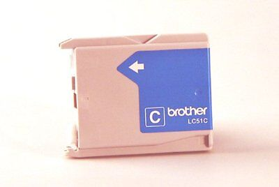 (Brother International Lc51c Cyan Ink Cartridge For Models Mfc240c / Dcp130c)