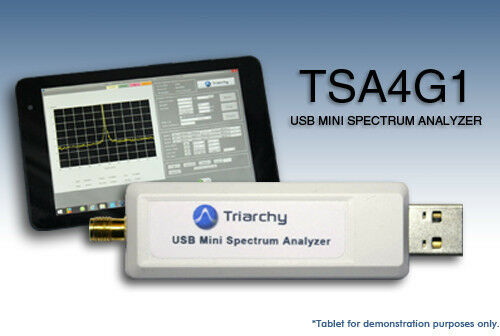 USB RF Spectrum Analyzer 4 15 GHz - TSA4G1 by Triarchy Technologies |  Shopping Bin - Search eBay faster