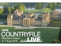 BBC Countryfile Live 6 tickets