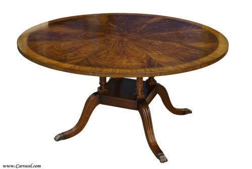 Round Mahogany Dining Table Ebay