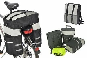 fahrrad gep cktasche satteltasche gep cktr ger tasche fahrradtasche rucksack neu ebay. Black Bedroom Furniture Sets. Home Design Ideas