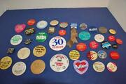 Pinback Buttons Lot
