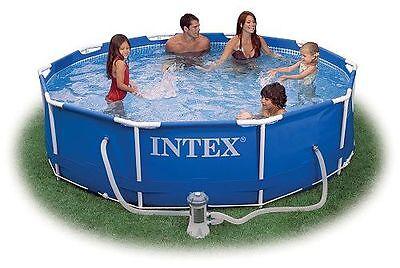 intex ultra frame pool komplett set 488x122 sandfilter. Black Bedroom Furniture Sets. Home Design Ideas