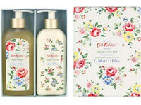 Cath Kidston Meadow Posy Hand Duo Set Hand Wash & Lotion Gift Present Brand New