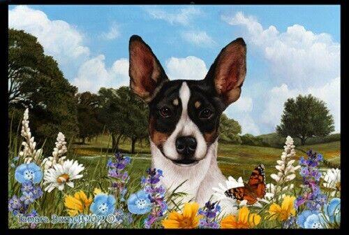 Summer Floor Mat - Rat Terrier 39130
