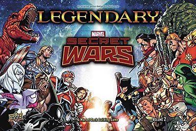 Legendary Marvel Secret Wars Volume 2 Deck Building card Game new sealed DBG