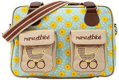 PINK LINING Sunflowers Mama et Bebe Pram Baby Changing Bag, used for sale  Shipping to South Africa