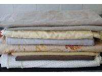 Bundle of Good Sized Remnants of Furnishing Fabrics.