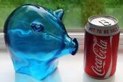 Glass Piggy Bank