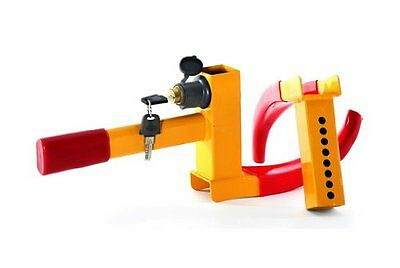 CAR CLAW CARAVAN BOAT TRAILER WHEEL CLAMP HIGH SECURITY ANTI THEFT LOCK NEW
