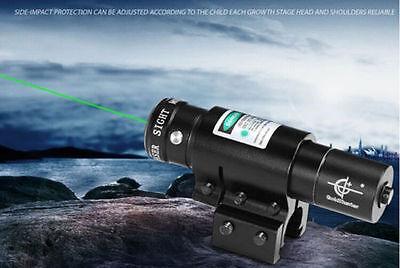 Stock Gun JG8 Green Laser Light Combo Sight Rifle Pistol Compact Picatinny Mount Combo Green Compact