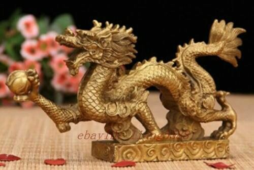 Zodiac dragon furnishing household decorations arts and crafts Small ornament