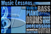 Music Lessons for all Ages and Levels!