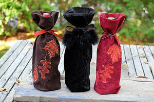 Hand made decorative wine bags. Peterborough Peterborough Area image 4
