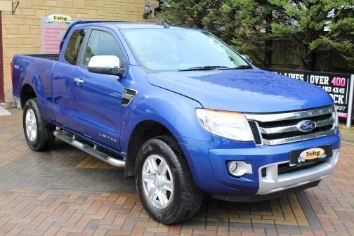 2017 Ford Ranger Limited 4x4 Super Cab Tdci 150 Pick Up Sel