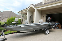 Fly-fishing Guide Boat for Sale