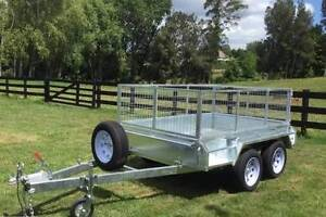 8x5 New Box Trailer Heavy Duty Caged Tandem Hot Dip Galvanised Newcastle Newcastle Area Preview
