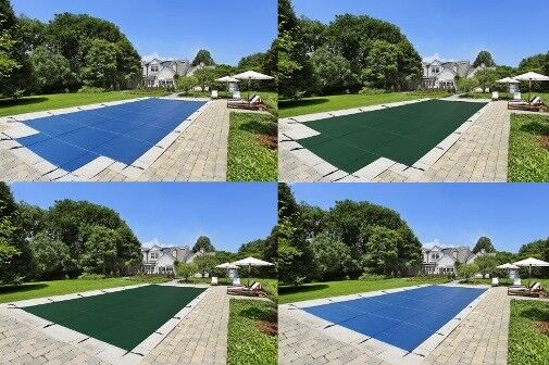 LinerWorld – MESH Winter SAFETY POOL COVER for 18'x36′ IN GROUND POOL Above-Ground Pools