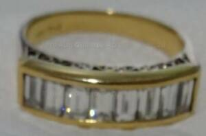 OFFERS! ALMOST FLAWLESS = White Diamond Ring URGENT !
