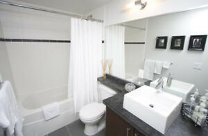 BEDROOM WITH PRIVATE BATHROOM FULLY FURNISHED IN DOWNTOWN