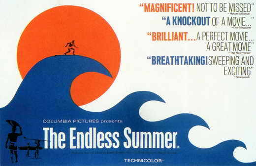 THE ENDLESS SUMMER MINI Promo Movie POSTER B Bruce Brown